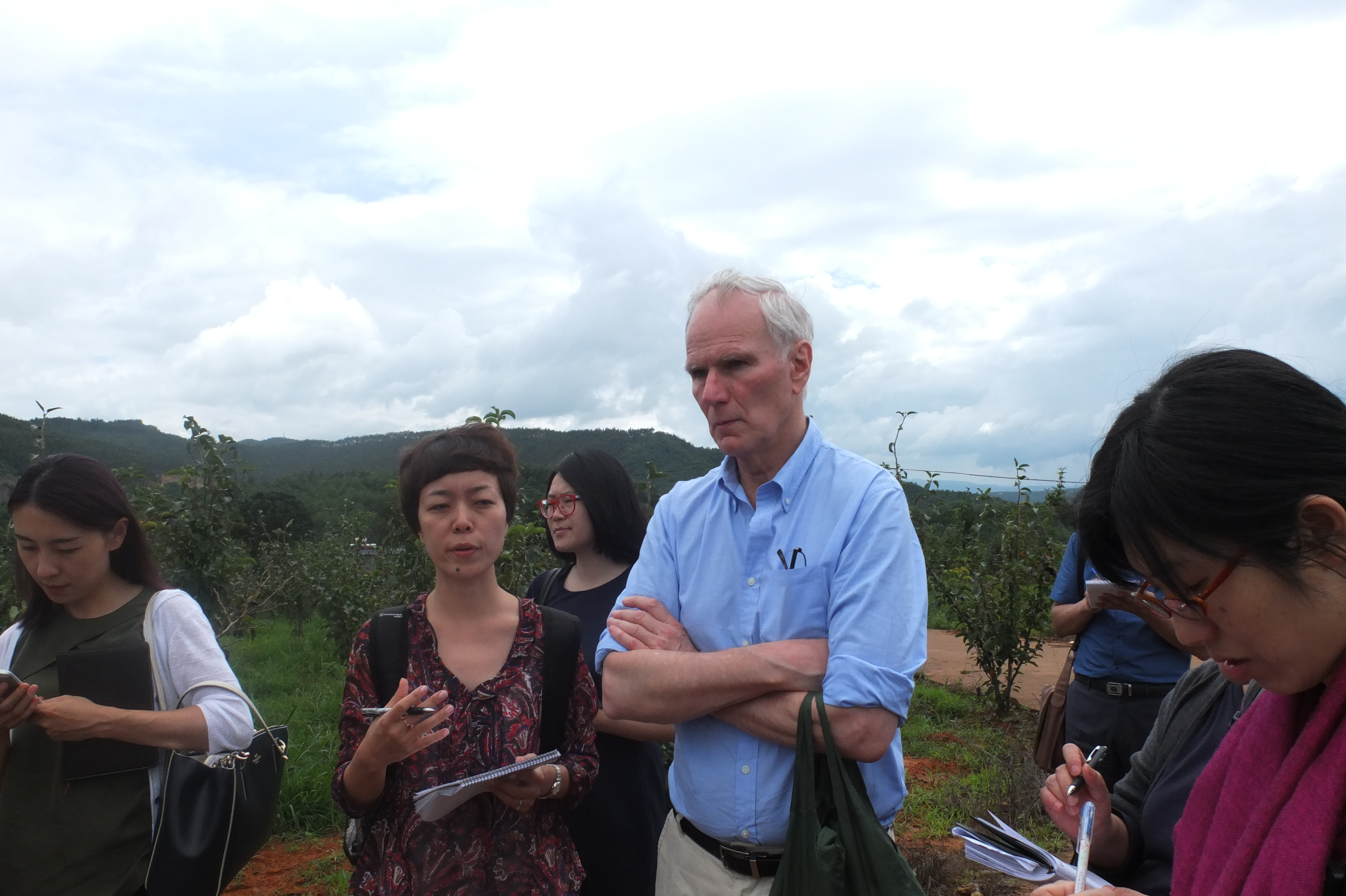 Philip Alston conducting a country visit to China
